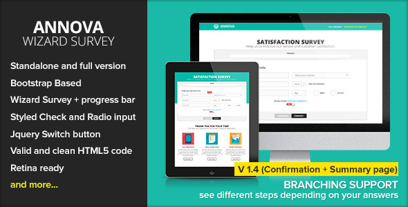 REVIEWER - Rating and Review Wizard HTML Template - 6